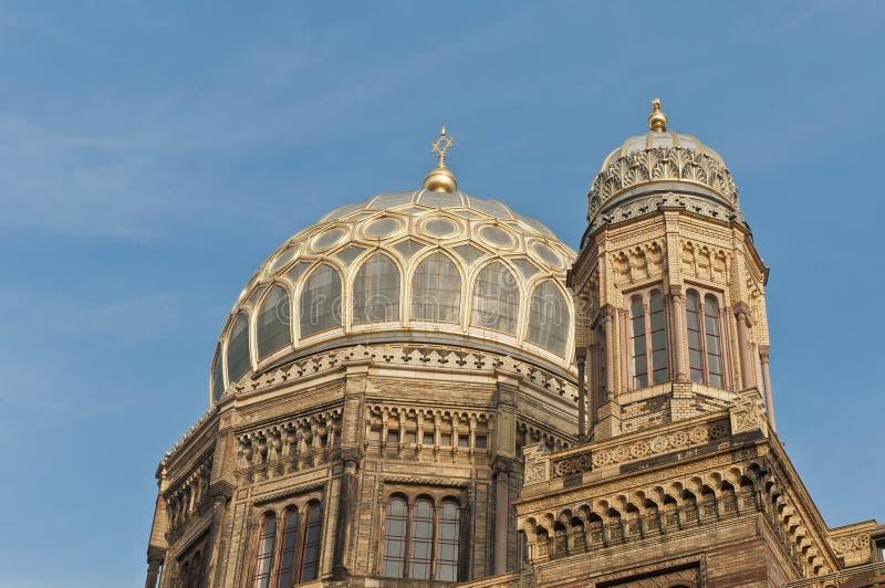 synagoge neue berlin Германии стоковое изображение rf