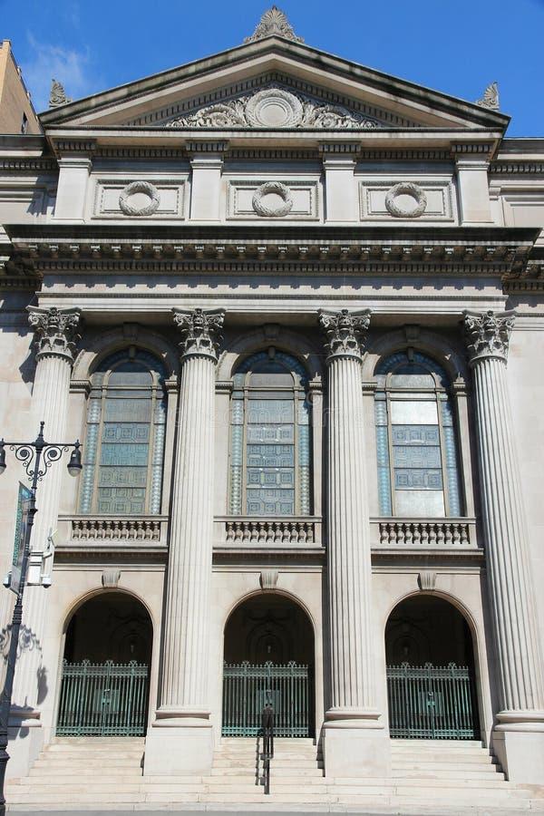 Synagoge in New York lizenzfreie stockfotos