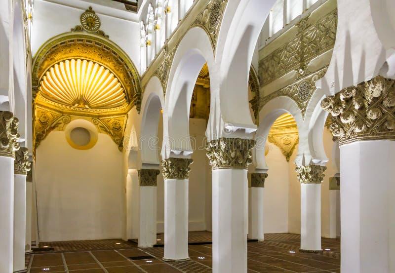 Synagoge Toledo royalty-vrije stock afbeeldingen