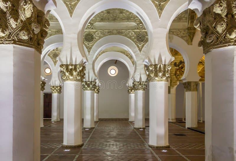 Synagoge Toledo royalty-vrije stock foto