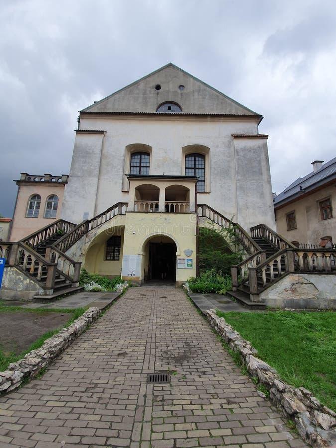 Synagogue à Cracovie, Pologne images libres de droits