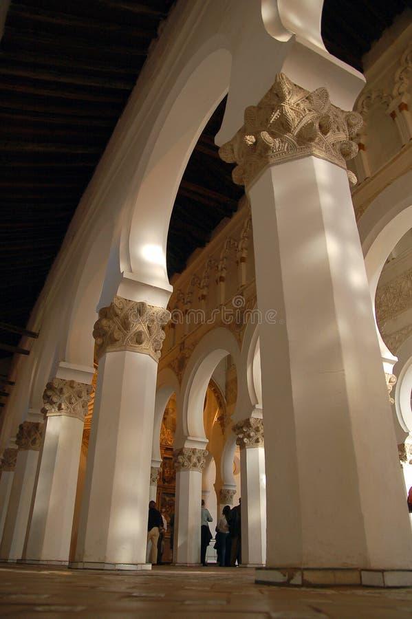 Synagogue blanche photographie stock libre de droits