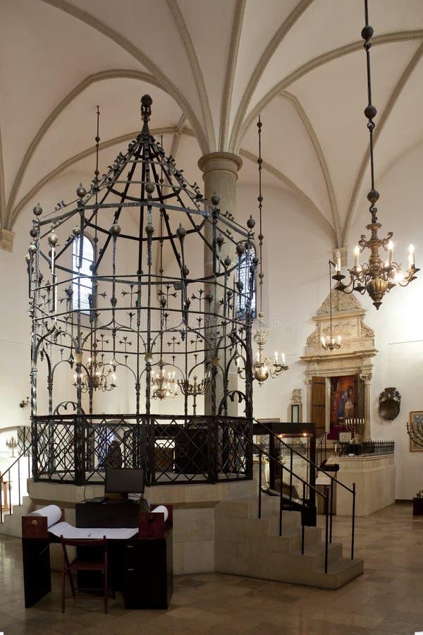 Synagogue - Cracovie - Pologne image libre de droits