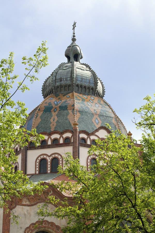 Synagogue dans Subotica image stock