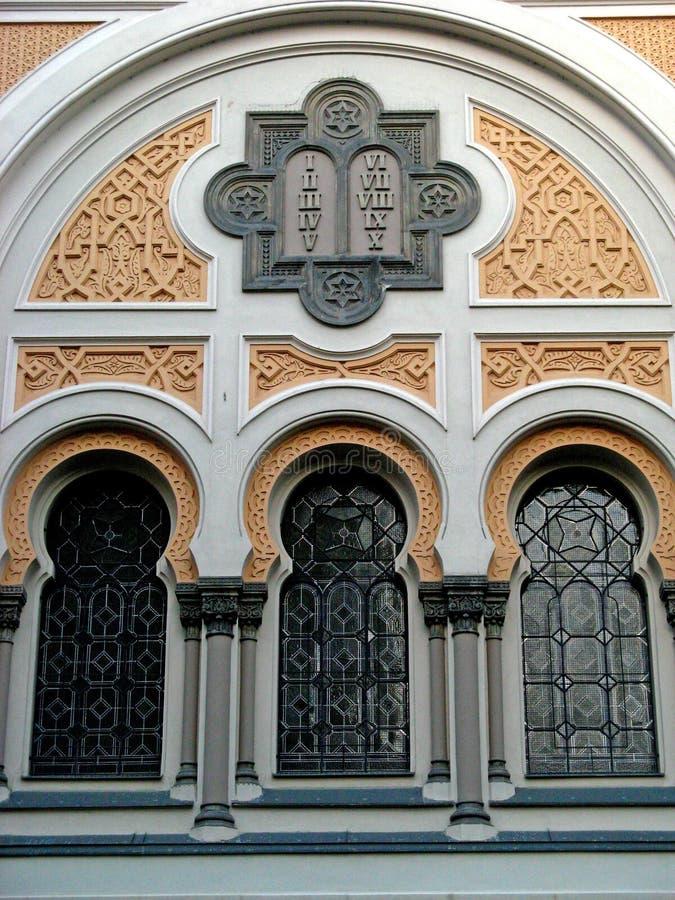 synagogue de 02 Espagnols de josefov photos stock