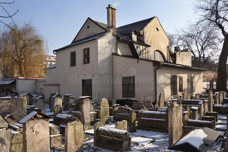 synagogue de remuh cracovie pologne photo ditorial image 23354806. Black Bedroom Furniture Sets. Home Design Ideas
