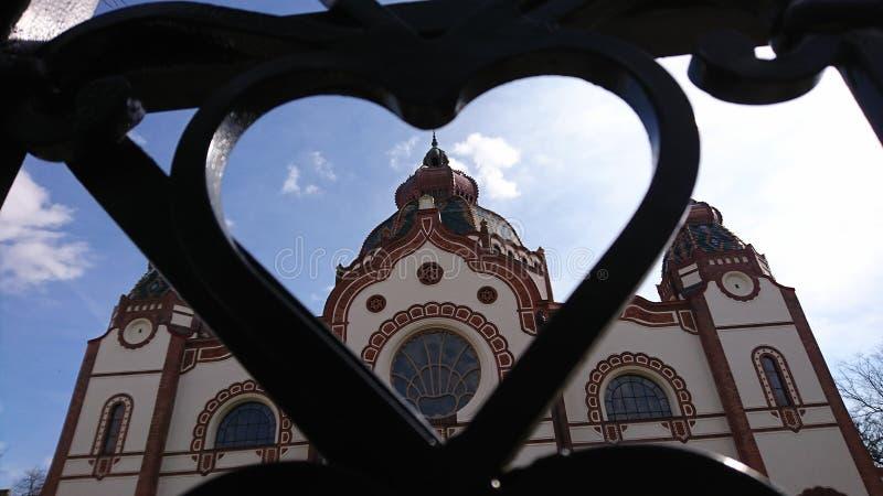 Synagogue de Subotica image libre de droits