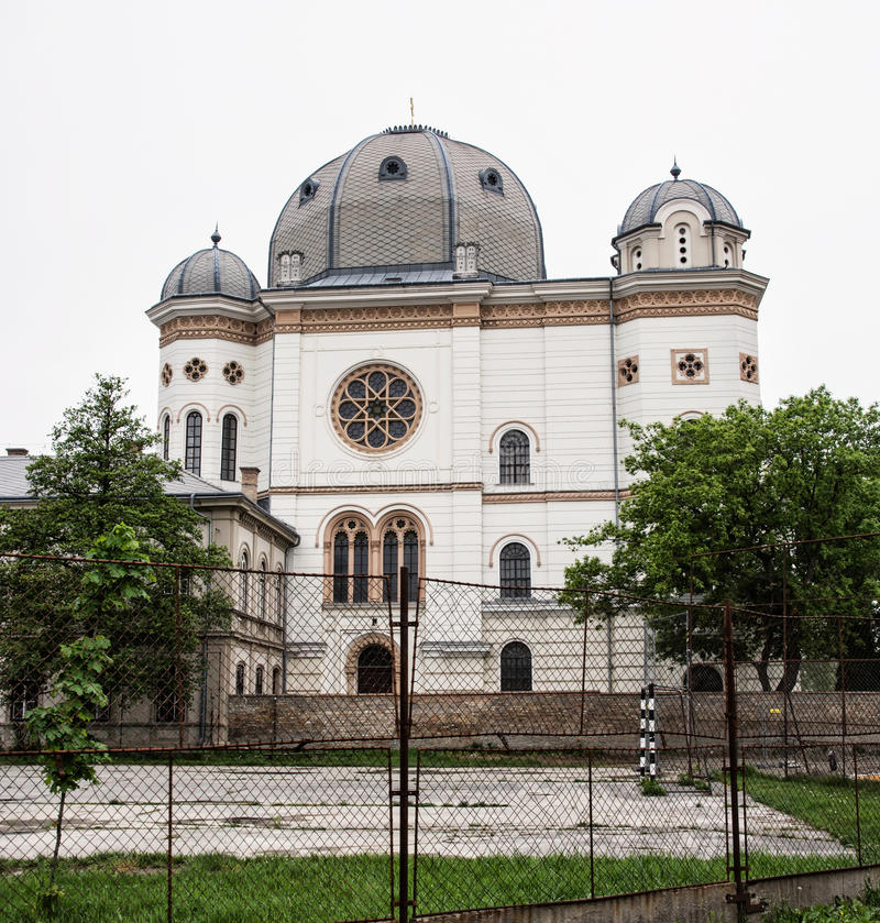 Synagogue, Gyor, Hongrie photographie stock