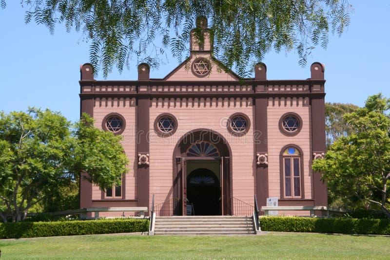 Synagogue historique de 1889 photo stock