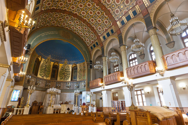 Synagogue interior royalty free stock images