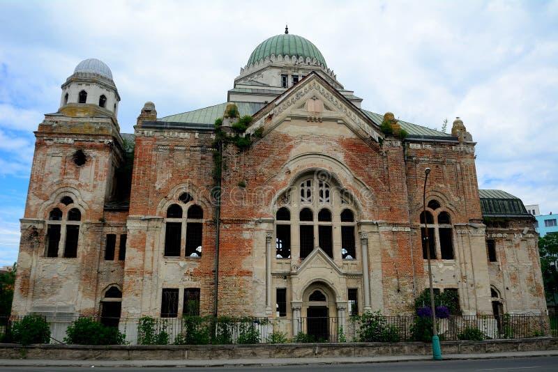 Synagogue, Lucenec, Slovakia. Synagogue ruins in Lucenec, Slovakia royalty free stock photo