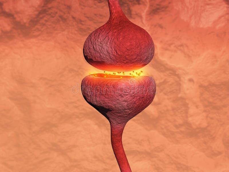 synapse ilustracja wektor