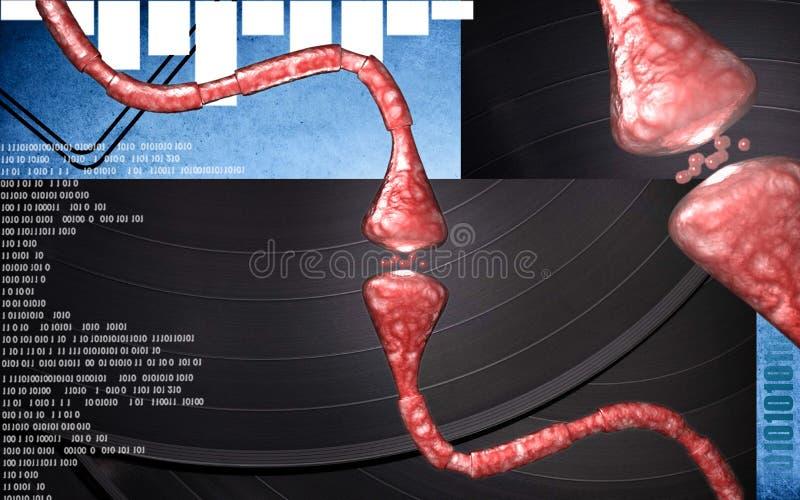 Synapse royalty ilustracja