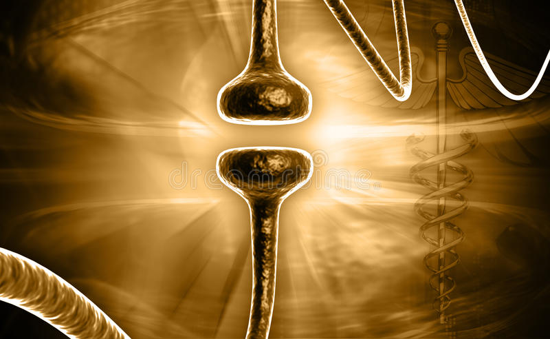 synapse illustration libre de droits
