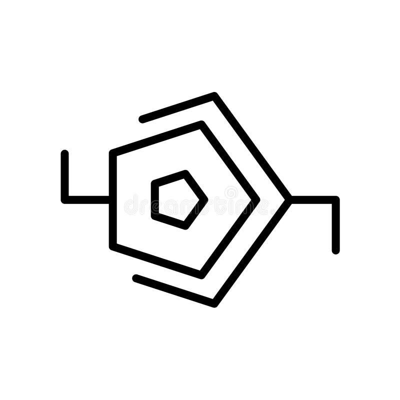 synapse ikona odizolowywająca na białym tle ilustracja wektor