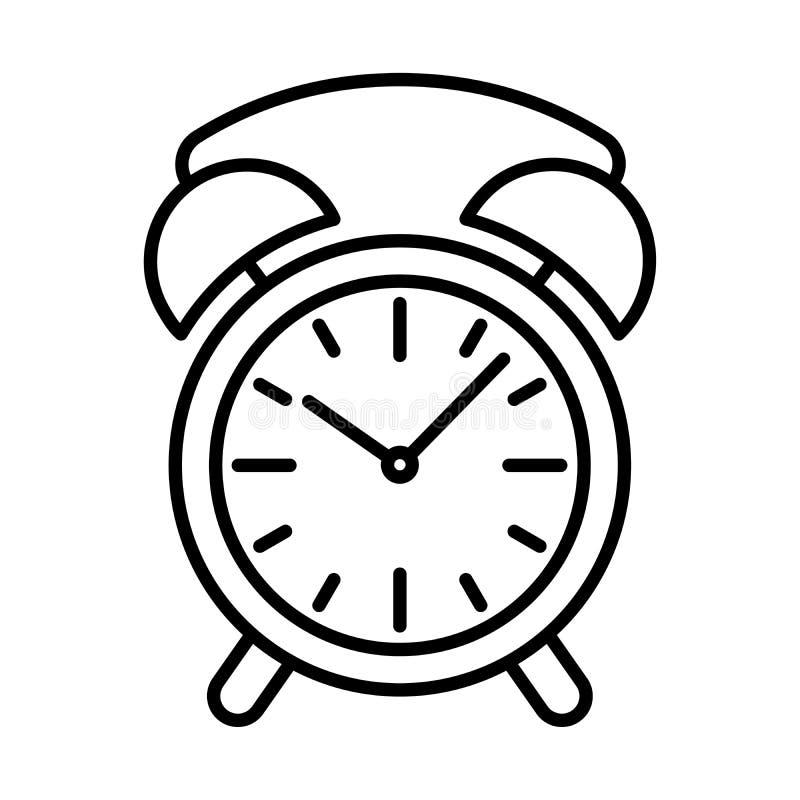 Download Synchronisez La Découpe De Noir D'icône D'alarme Sur Le Fond Blanc De L'illustration De Vecteur Illustration de Vecteur - Illustration du minute, countdown: 87708825