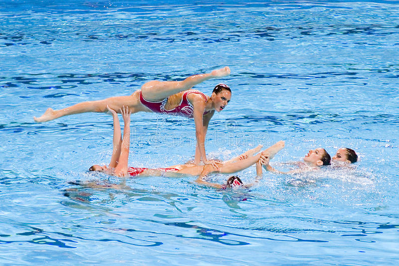 Synchronized swimming - Spain