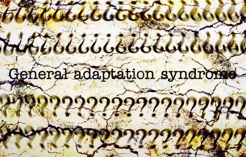 Syndrome général d'adaptation images libres de droits
