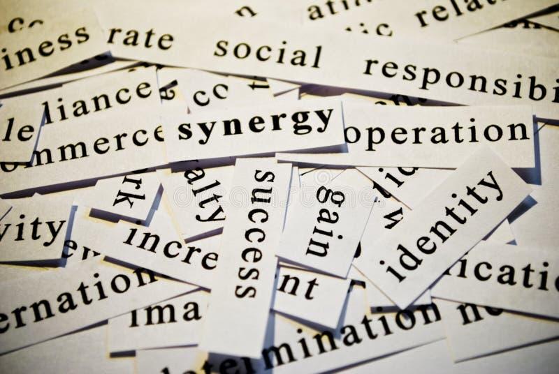 Synergia zdjęcie stock