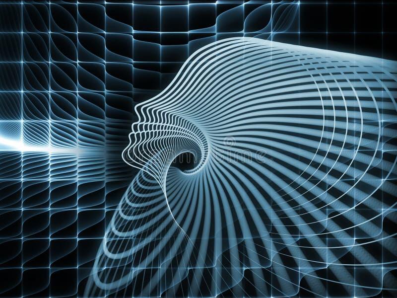 Synergier av andageometri vektor illustrationer