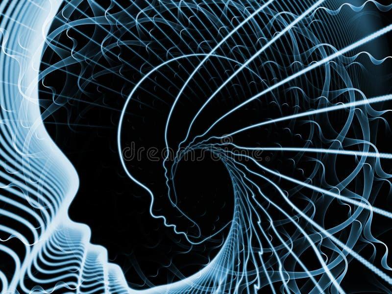 Synergies d'âme et d'esprit photos libres de droits
