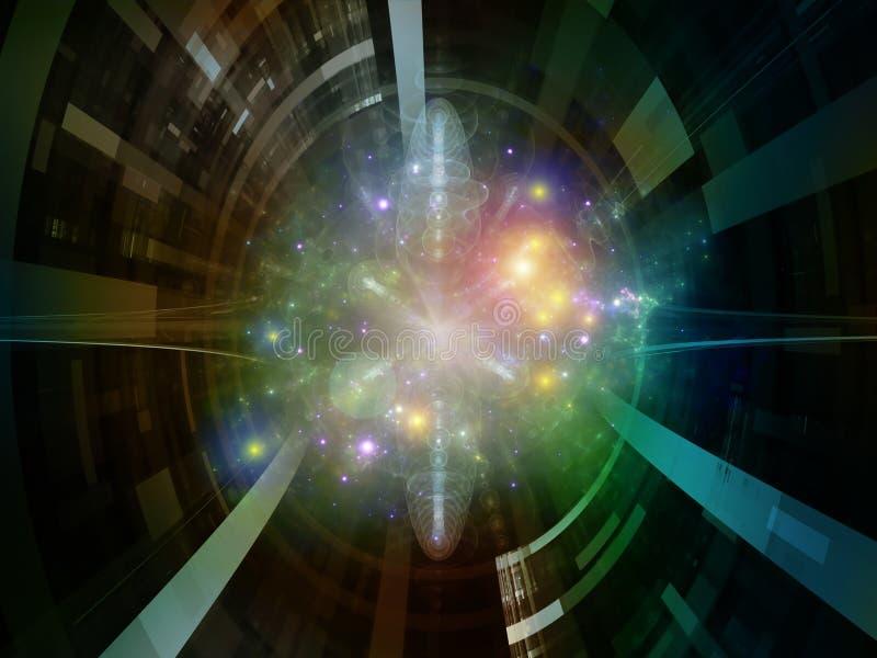 Synergiowie Astronautyczny emiter ilustracji