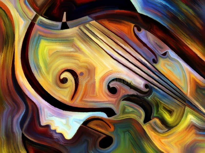 Synergiowie muzyka ilustracja wektor