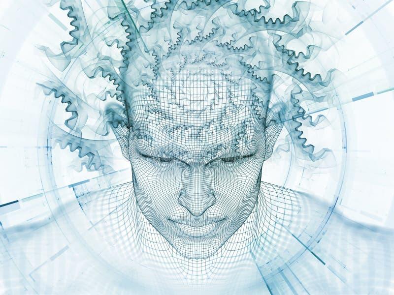 Synergiowie umysł ilustracja wektor