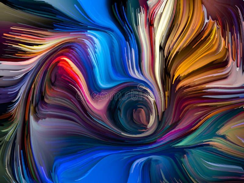 Synergiowie Zrastający się kolory ilustracji