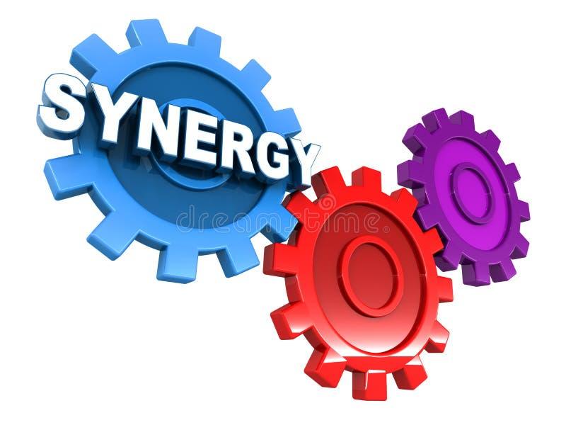 synergisme royalty-vrije illustratie