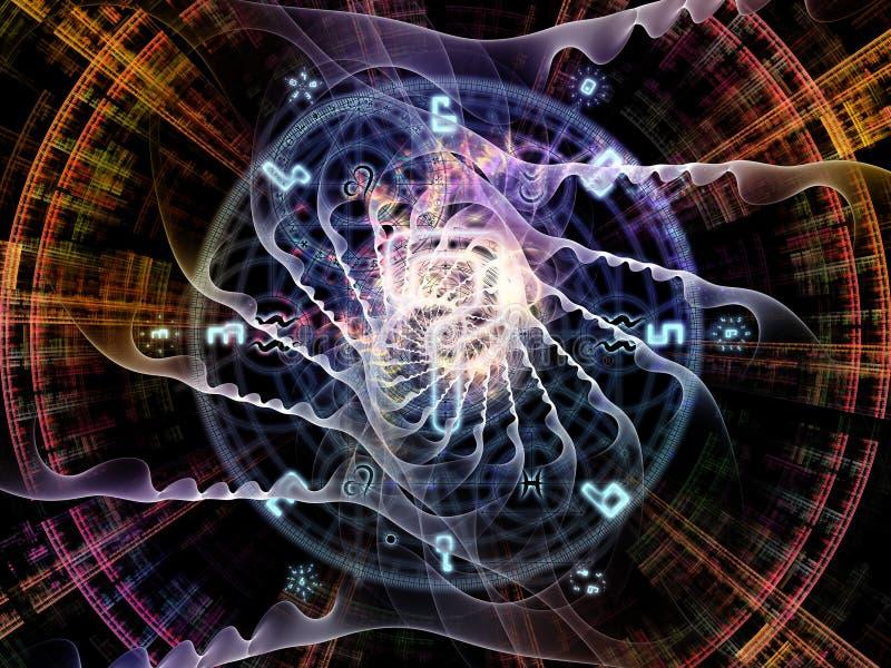 Synergismen van Symbolische Betekenis vector illustratie