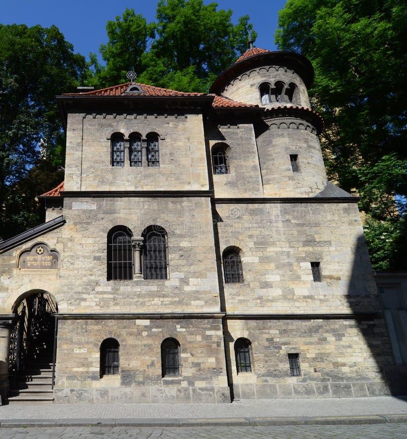 Synogogue de Klaus en Praga fotos de archivo libres de regalías