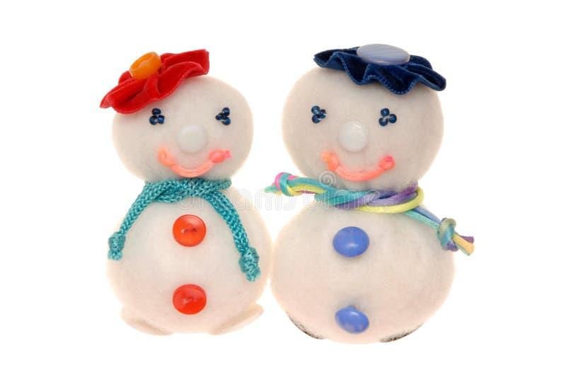 syntepon snowmans stock photos