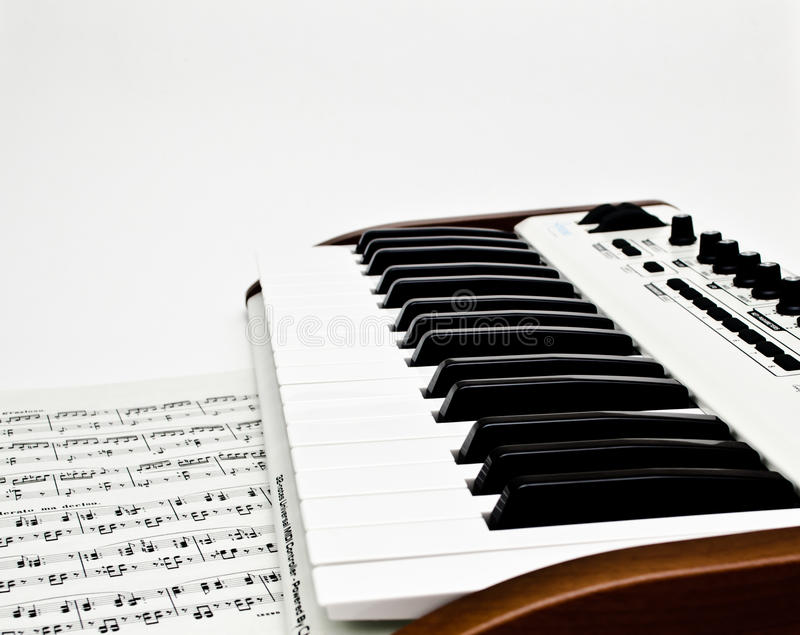 Download Synth stock image. Image of artist, keyboard, musical - 21866433