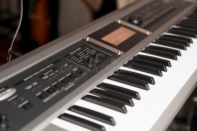 Download Synthesizer stock photo. Image of stereo, board, control - 17496556