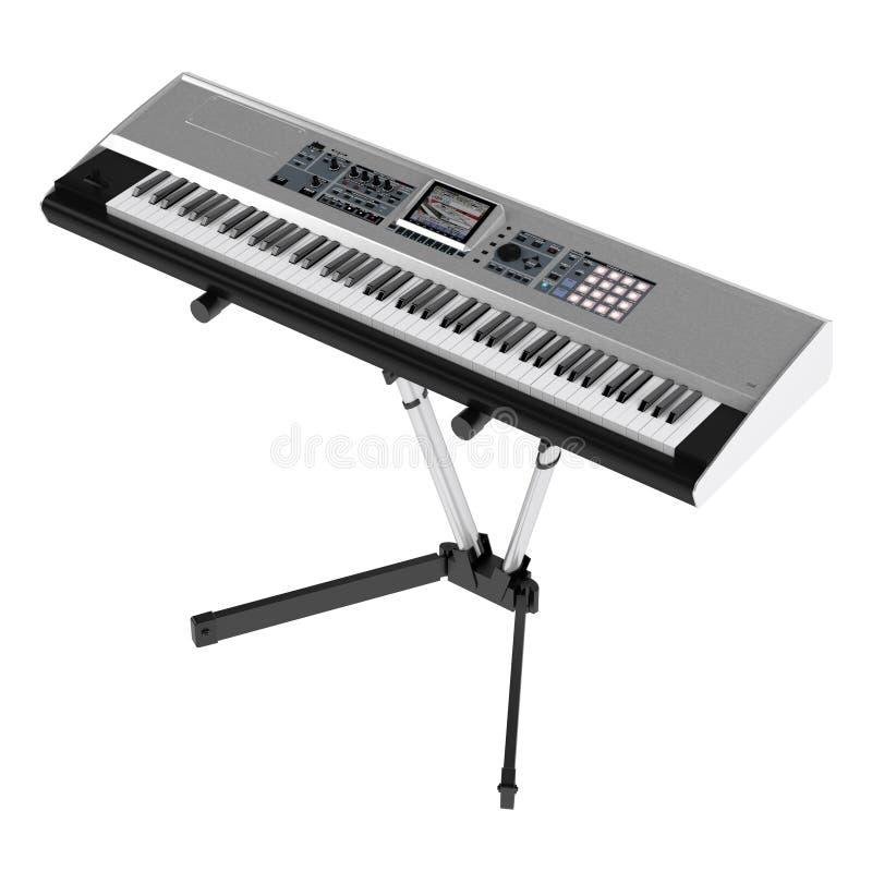 Synthesizer stock illustratie