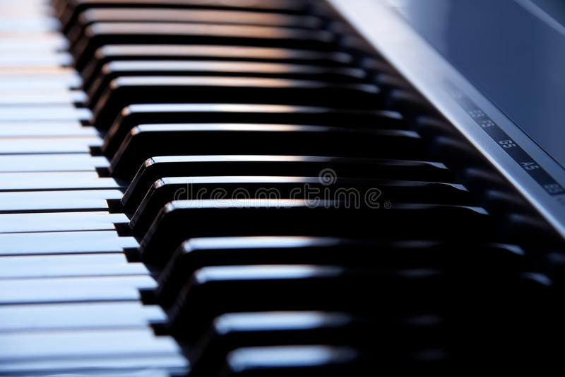 Download Synthesizer Keyboard Royalty Free Stock Photos - Image: 17474368