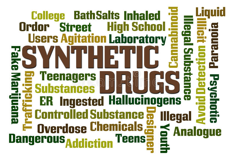 Synthetic Drugs vector illustration