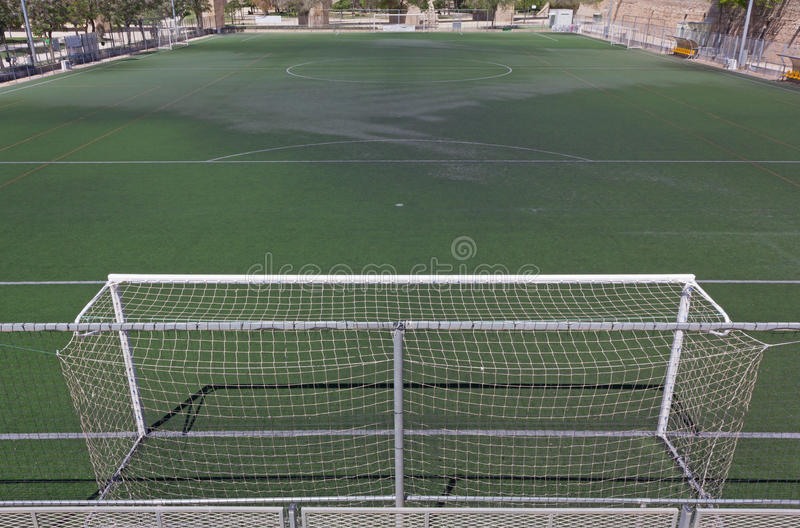 grass soccer field with goal.  Goal Download Synthetic Grass Soccer Field Stock Image  Of Sport  Penalty 40328305 In With Goal S