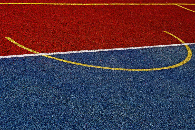 Synthetic Sports Field 19 Stock Image