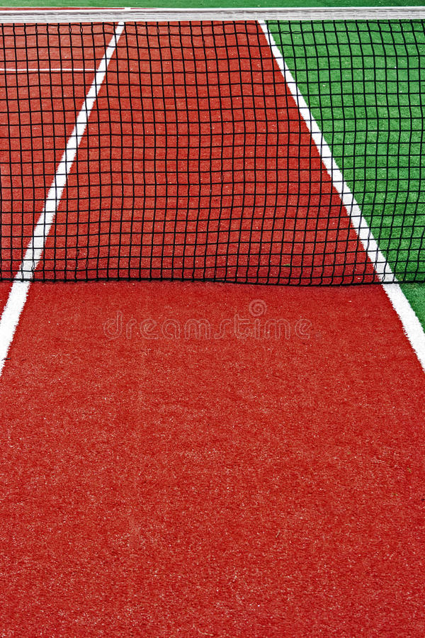 Synthetic sports field for tennis 14