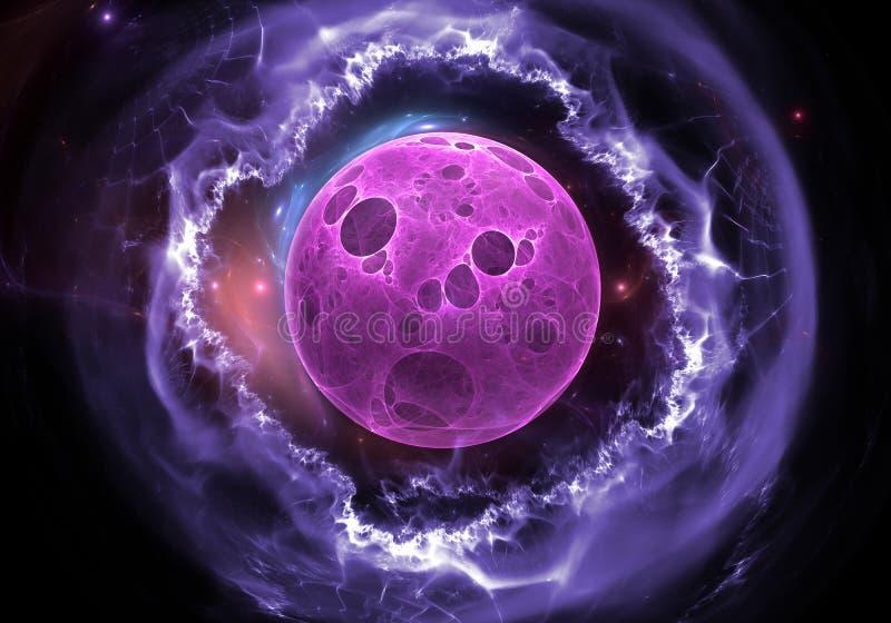 Synthetische cellenachtergrond vector illustratie