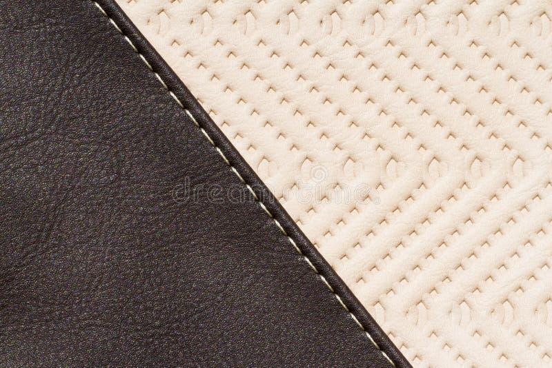 Synthetische materiële textuur dichte omhooggaand stock afbeelding