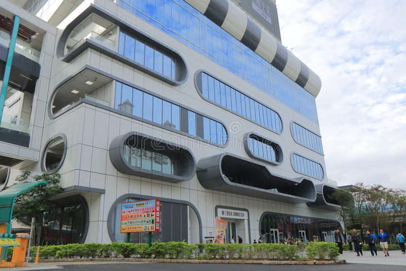 Syntrend shoppinggalleria Taipei Taiwan royaltyfria foton