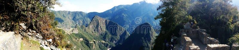 Synvinkel av staden av incasna Cusco - Peru royaltyfri foto