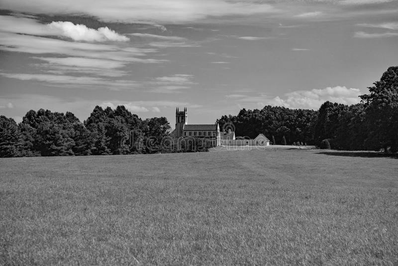 Syon abbotskloster, kopparkulle, Floyd County, Virginia, USA fotografering för bildbyråer
