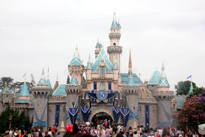 Sypialnego piękna kasztel, Disneyland, Kalifornia obrazy stock