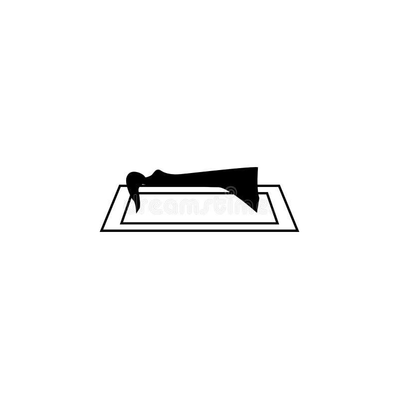 sypialnego piękna sylwetka Element baśniowi bohaterzy ilustracyjni Premii ilości graficznego projekta ikona Znaki i symbolu coll royalty ilustracja