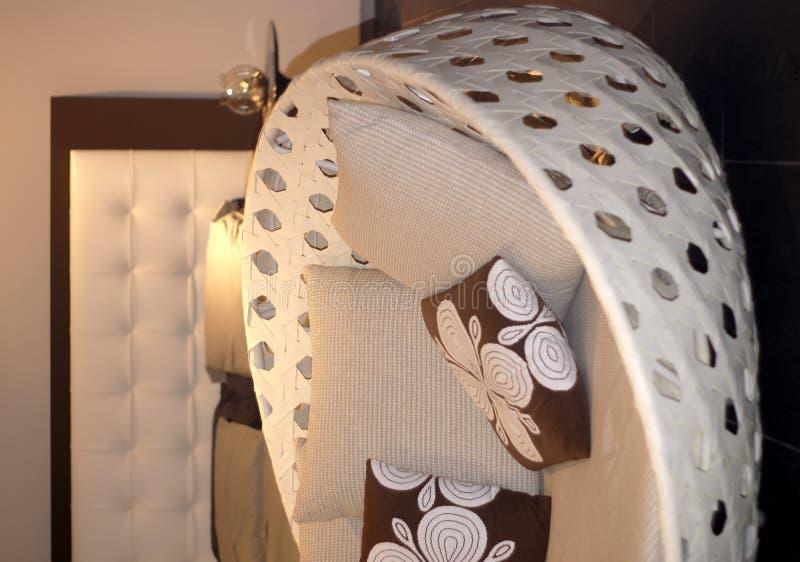 sypialni leżanka zdjęcie stock