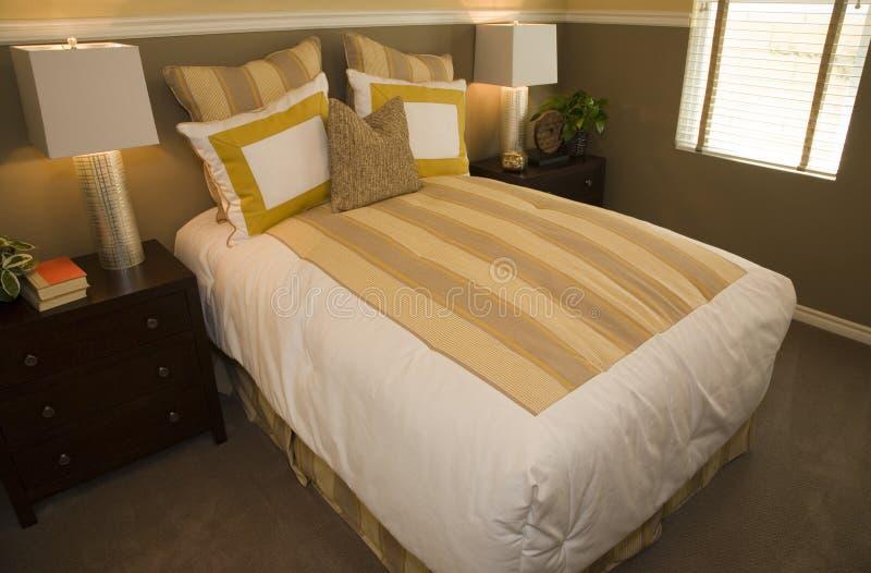 sypialni nowożytny domowy luksusowy zdjęcie royalty free
